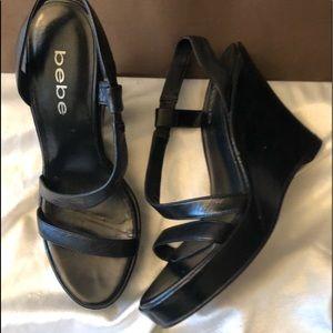 BEBE Leather Sandals